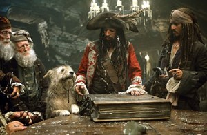 Pirates of the Caribbean-At World's End - Keith Richards and Johnny Depp