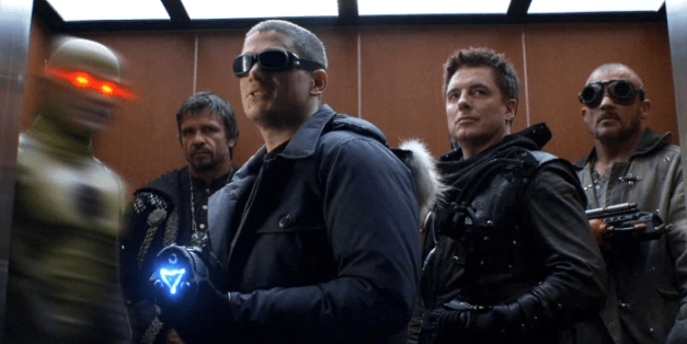 Reverse Flash, Ra's al Ghul, Merlyn, Captain Cold and Heat Wave