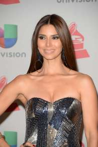 Roselyn Sanchez in shiny dress