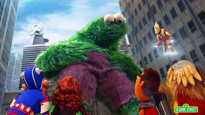 sesame-street-the-aveggies.Avengers Age of Ultron parody