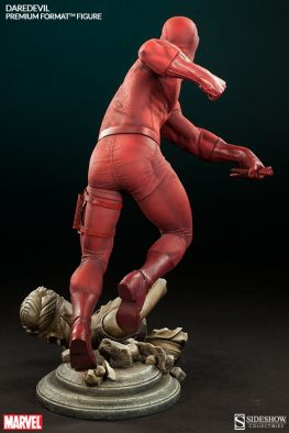Sideshow Collectibles Daredevil premium format - rear view