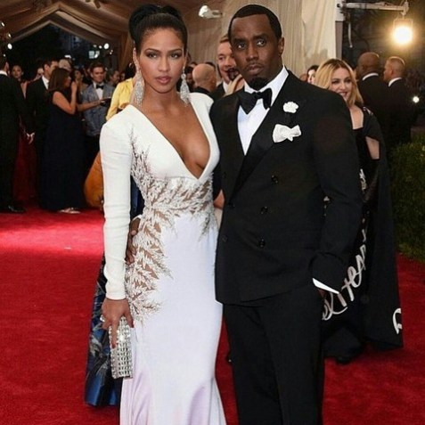 2015 Met Gala - Cassie and Diddy