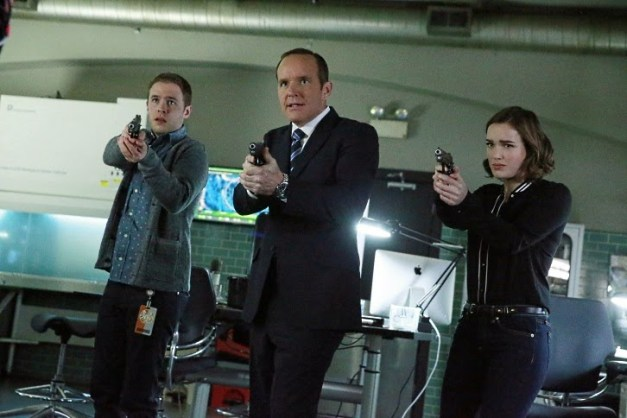 Agents of SHIELD - SOS - Fitz, Coulson and Simmons