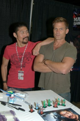 Awesome Con 2015 Day 1 cosplay - Brian T and Casper Van Dien2