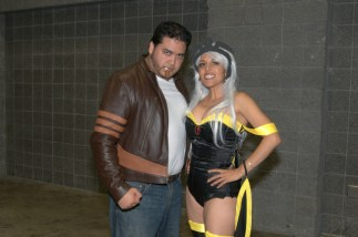 Awesome Con 2015 Day 1 cosplay -Wolverine and Storm2