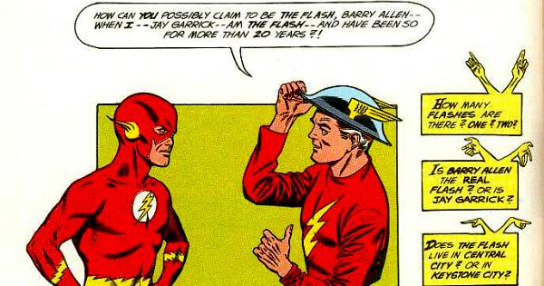 Barry Allen and Jay Garrick