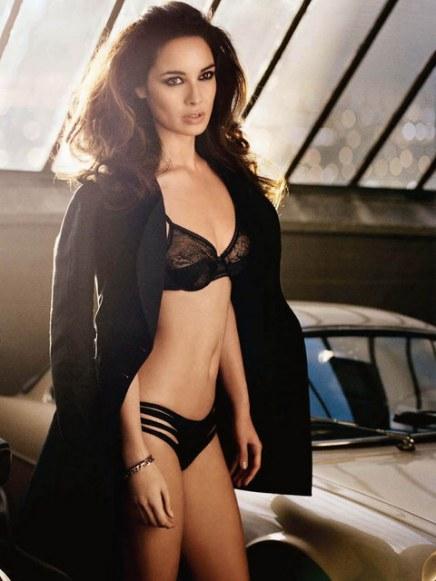 Berenice Marlohe - lingerie