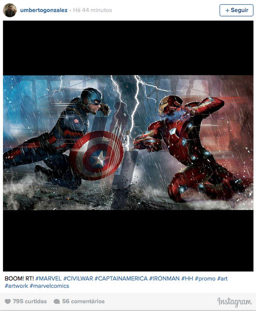 captain america civil war promo art