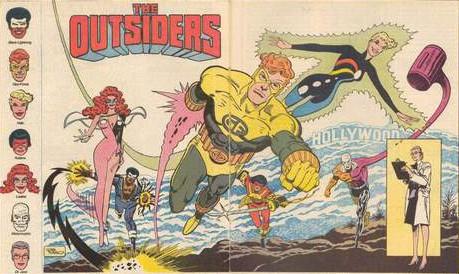 DC Comics The Outsiders