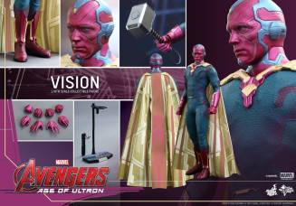 Hot Toys Avengers - Age of Ultron - Vision -collage