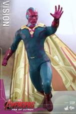 Hot Toys Avengers - Age of Ultron - Vision -hand up