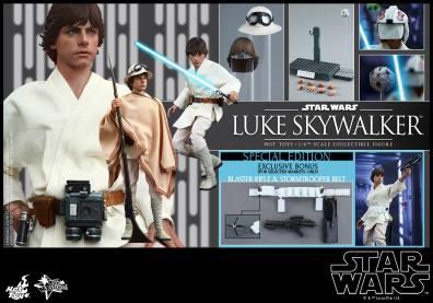 Hot Toys Star Wars Luke Skywalker - collage