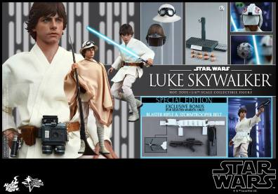 Hot Toys Star Wars Luke Skywalker - collage
