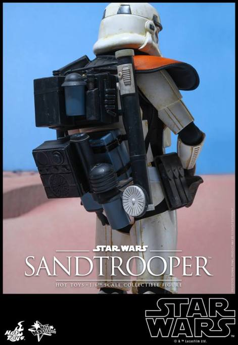 Hot Toys Star Wars Sandtrooper- backpack