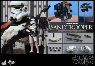 Hot Toys Star Wars Sandtrooper- collage