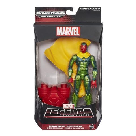 Marvel Legends Hulkbuster Wave 3 - Vision in package