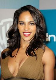 Megalyn Echikunwoke - low dress