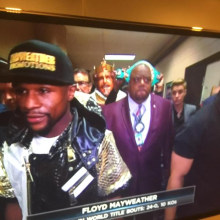 Pacquiao-Mayweather - Bieber and Burger King