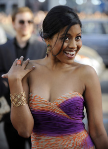 "Cast member Tiya Sircar attends the premiere of the film ""17 Again"" in Los Angeles"
