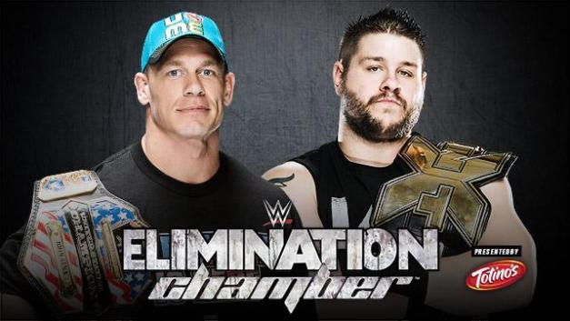 WWE Elimination Chamber 2015 - John Cena vs. Kevin Owens