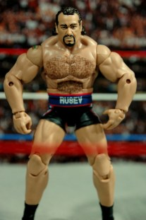 WWE Elite 34 Rusev review pics - arms out