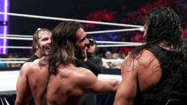WWE Payback - Shield reforms