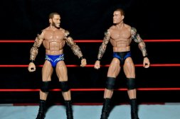 Randy Orton Mattel WWE Elite 35 -scale with Elite Series 2 Orton figure