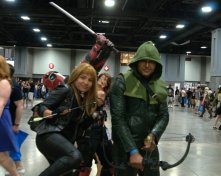 Awesome Con 2015 cosplay Saturday - Black Canary and Arrow