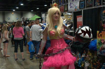 Awesome Con 2015 cosplay Saturday - Princess Toadstool 2