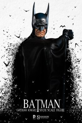 Batman Gotham Knight Sideshow - with bats backdrop