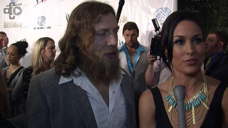 Daniel Bryan - with Brie Bella