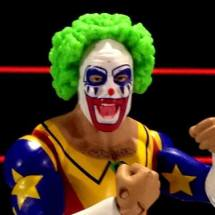 Doink the Clown WWE Mattel figure review - second wig