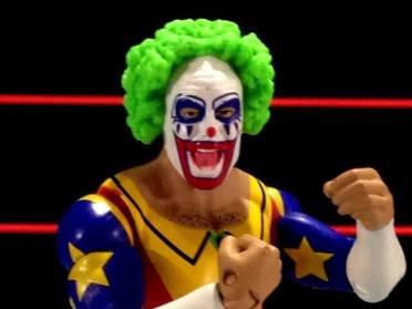 Doink the Clown WWE Mattel figure review - second wig