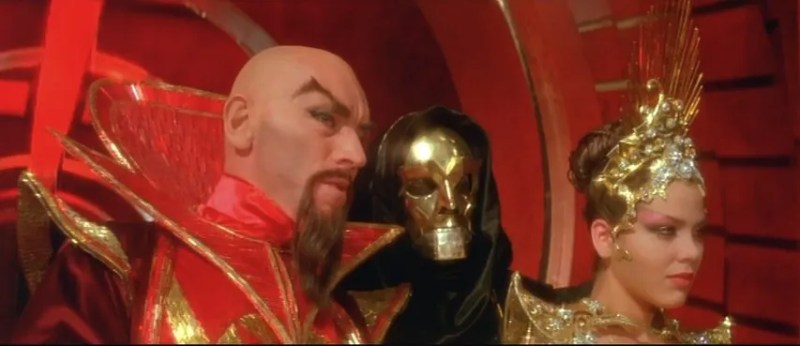 Flash Gordon - Ming, Klytus and Princess Alura