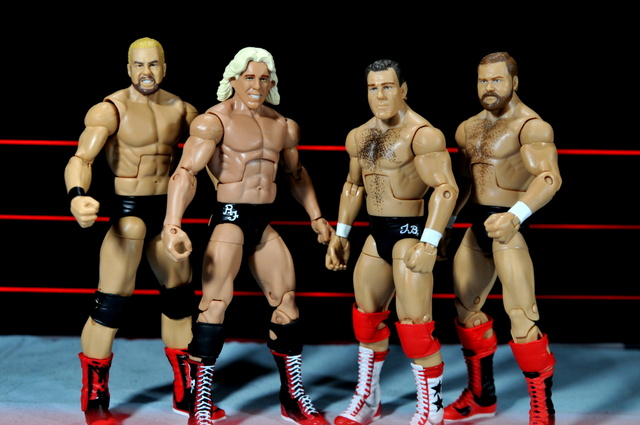 Four Horsemen figure review - Four Horsemen all black