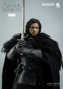 Game of Thrones Jon Snow figure - clutching sword
