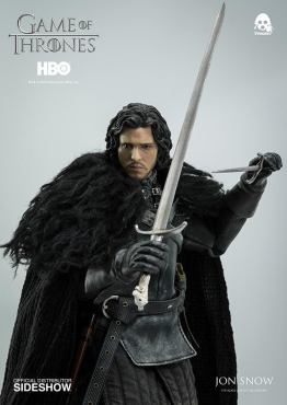 Game of Thrones Jon Snow figure - holding sword and dagger