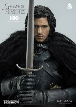 Game of Thrones Jon Snow figure - holding sword