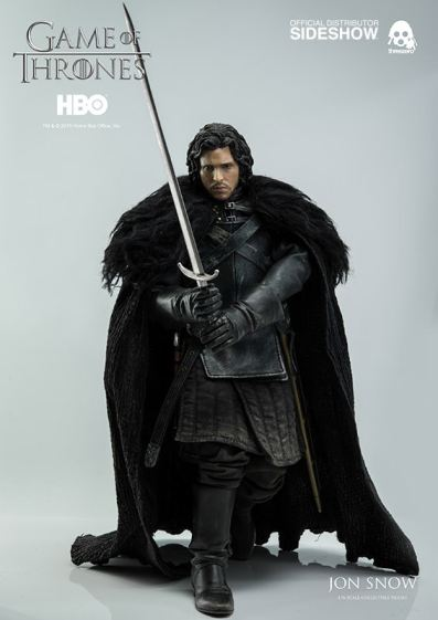 Game of Thrones Jon Snow figure - on the move