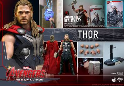 Hot Toys Thor Avengers Age of Ultron figure -collage