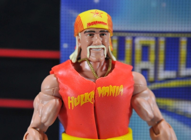 WWE Wrestling Mattel Elite Hulkamania Hulk Hogan Bandana Hat Accessory Figures