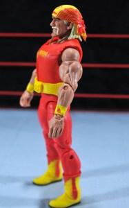 Hulk Hogan Hall of Fame figure - left side