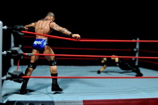 Randy Orton Mattel WWE Elite 35 -ready to punt