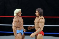 Ric Flair Defining Moments figure review - facing off with Terry Funk