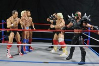 Ric Flair Defining Moments figure review - Four Horsemen vs Dusty Rhodes and Road Warriors