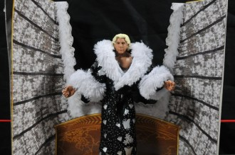 Ric Flair Defining Moments figure review - inner package open