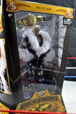 Ric Flair Defining Moments figure review - slant package view