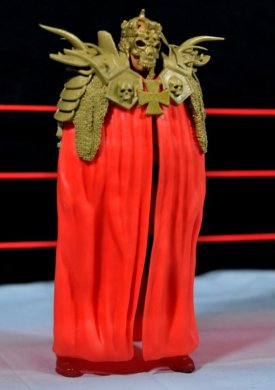 Triple H WWE Mattel Elite 35 - cloak mask side