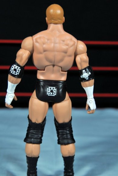 Triple H WWE Mattel Elite 35 - figure rear