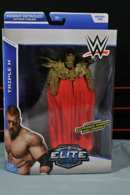 Triple H WWE Mattel Elite 35 - front package